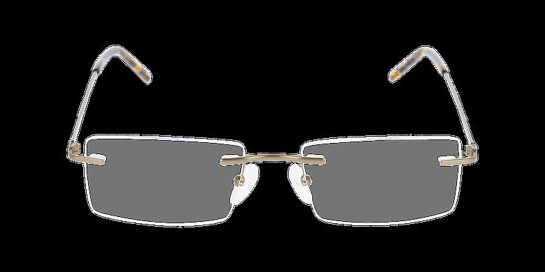 Lunettes de vue homme IDEALE-21 marronVue de face