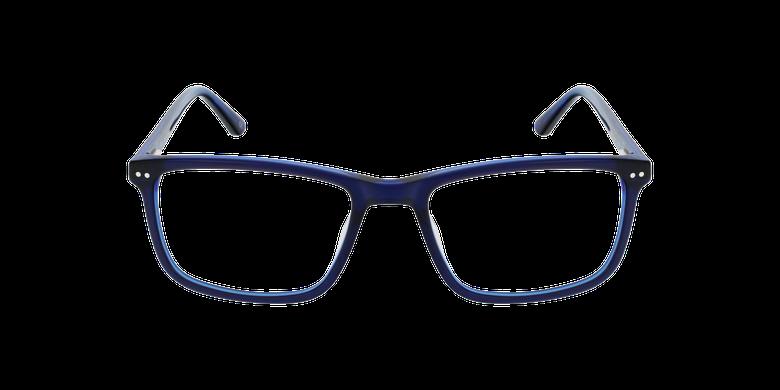 Lunettes de vue homme GWENDAL bleuVue de face