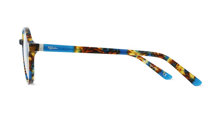 Lunettes de vue enfant LIKE écaille/turquoise - Vue de côté