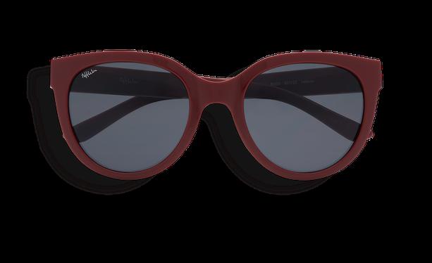 Lunettes de soleil femme CECILIA rouge - danio.store.product.image_view_face