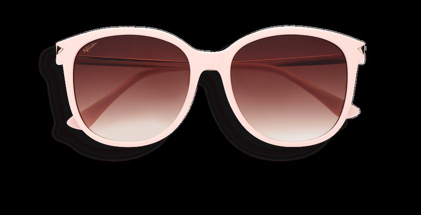 Lunettes de soleil femme UNCIA rose - Vue de face