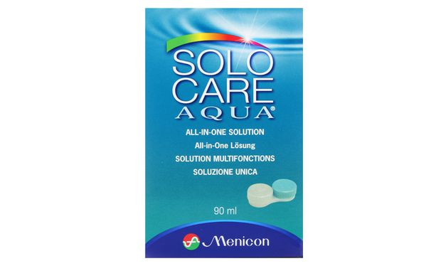 SoloCare Aqua 90ml - Vue de face