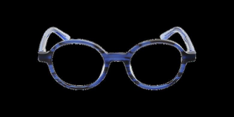 Lunettes de vue femme CAPUCINE bleuVue de face