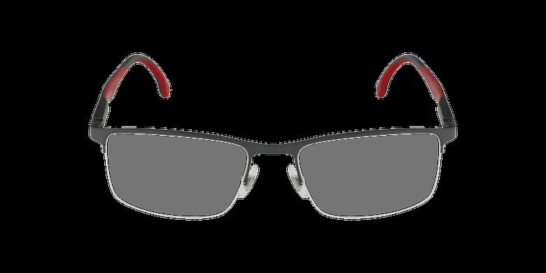 Lunettes de vue homme 8843 noir/rougeVue de face