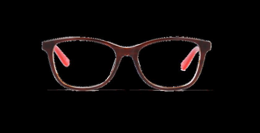 Lunettes de vue femme MADY marron - Vue de face