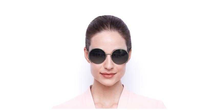 Lunettes de soleil femme SK0280-H argenté - Vue de face