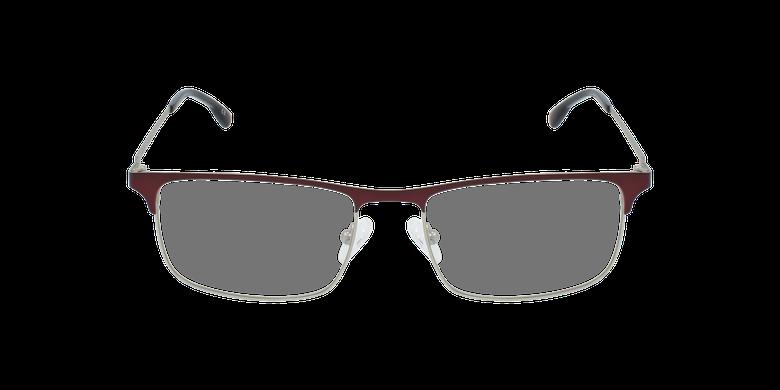 Lunettes de vue homme MAGIC 51 rouge/argentéVue de face