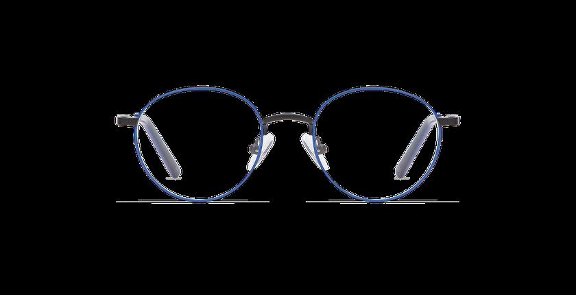 Lunettes de vue enfant DOM bleu/noir - Vue de face