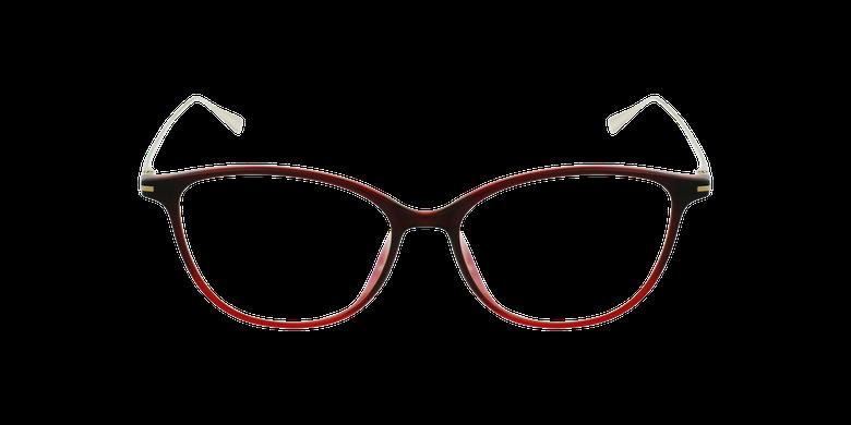 Lunettes de vue femme MAGIC 69 rouge/doré