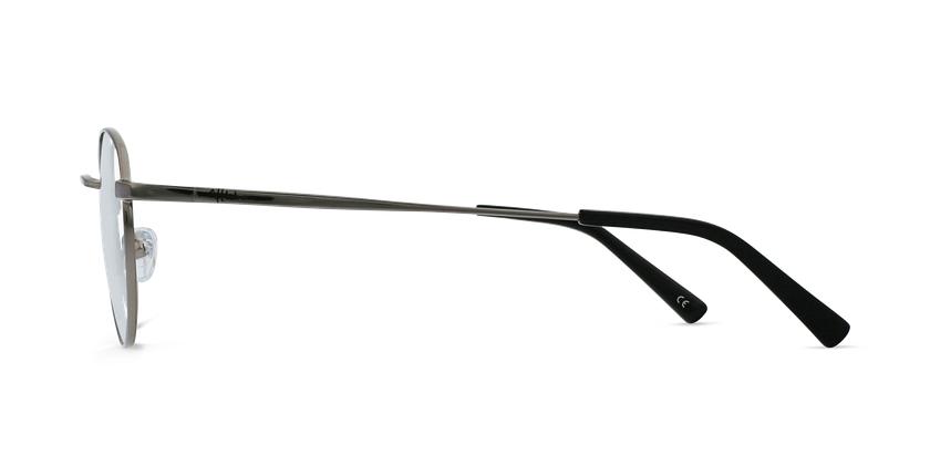 Lunettes de vue homme MARIN argenté - Vue de côté