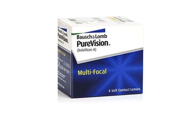 Lentilles de contact PureVision Multifocal 6L - Vue de face