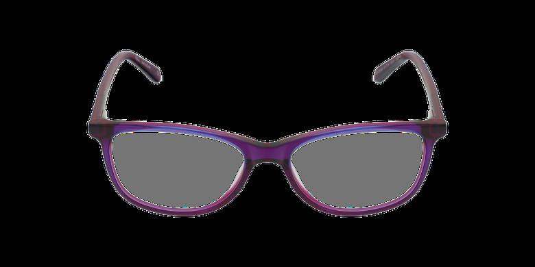 Lunettes de vue femme SOLINE violetVue de face