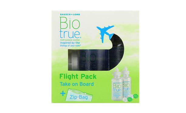 Biotrue Flight Pack 2x60ml - Vue de face