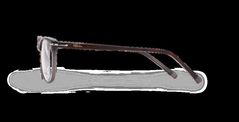 Lunettes de vue homme ARBOIS écaille/gris - Vue de côté