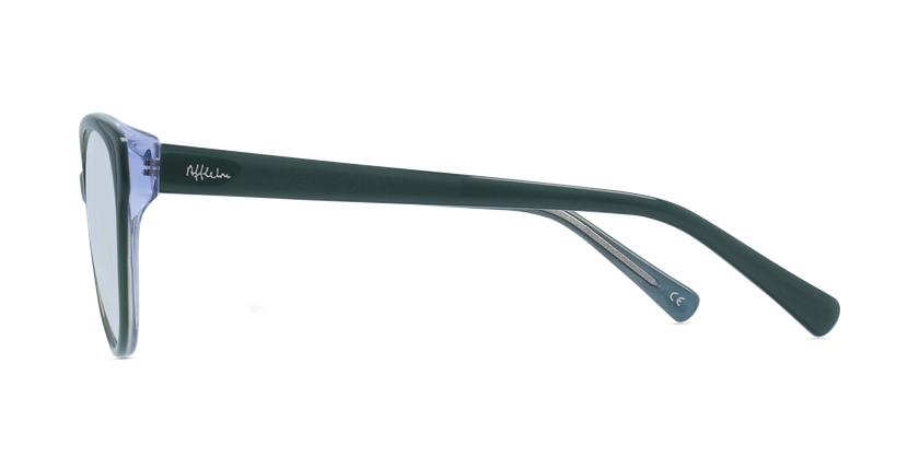 Lunettes de vue femme OAF20521 vert - Vue de côté