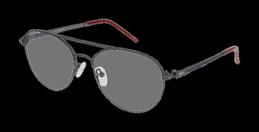 Lunettes de vue homme MERCURE gris - vue de 3/4