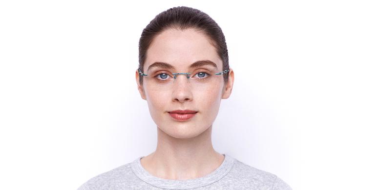 Lunettes de vue femme IDEALE-33 turquoise