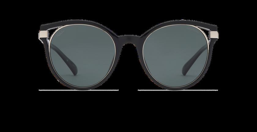 Lunettes de soleil femme IOVANA POLARIZED noir/argenté - Vue de face