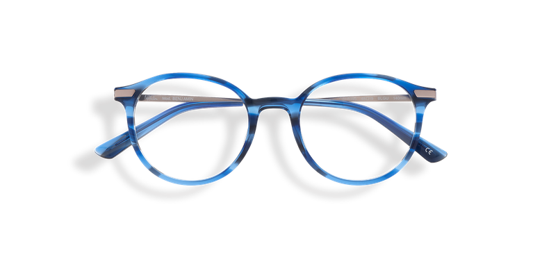 Lunettes de vue homme BENJAMIN bleu