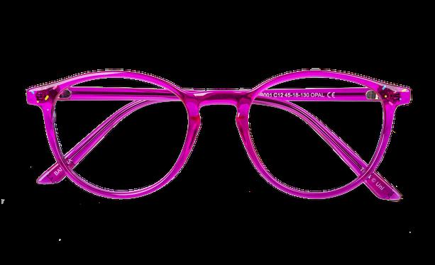 Lunettes de vue enfant BANANA rose - danio.store.product.image_view_face