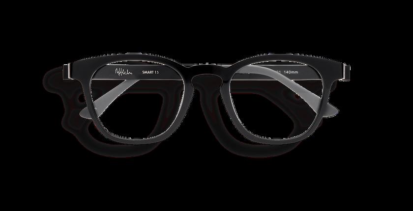 Lunettes de vue SMART TONIC 15 noir/noir brillant - Vue de face