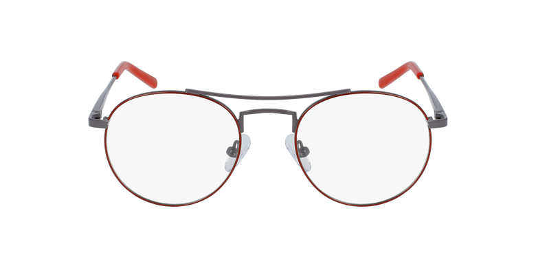 Lunettes de vue enfant LOGAN rouge/gris