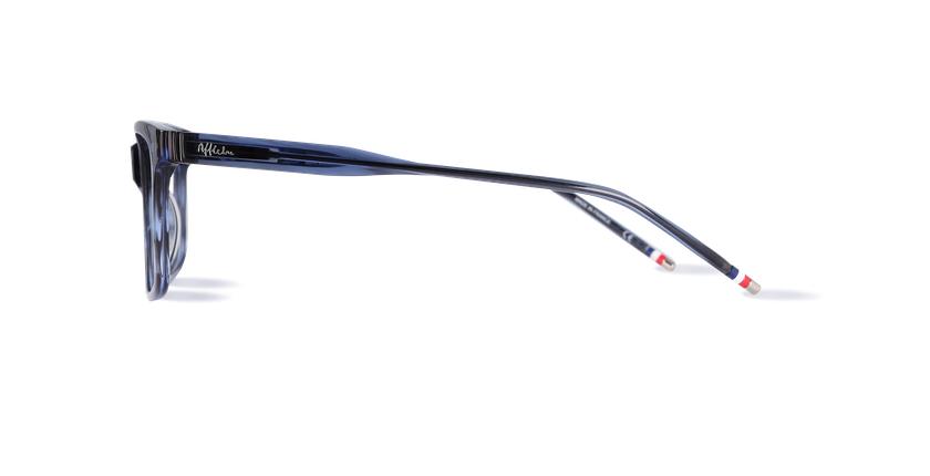 Lunettes de vue homme KOTO bleu - Vue de côté