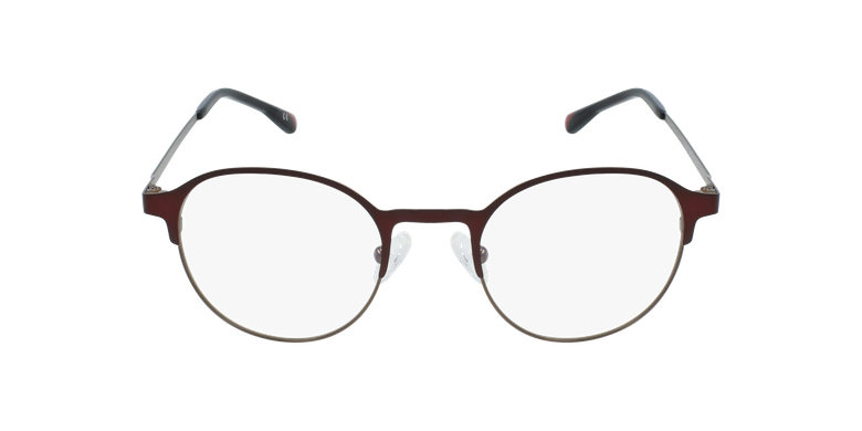 Lunettes de vue homme MAGIC 53 BLUEBLOCK rouge/marron