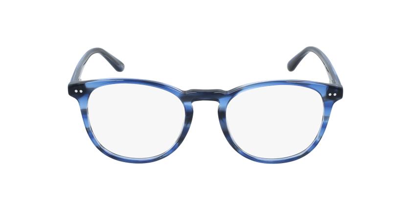 Lunettes de vue homme FARES bleu - Vue de face