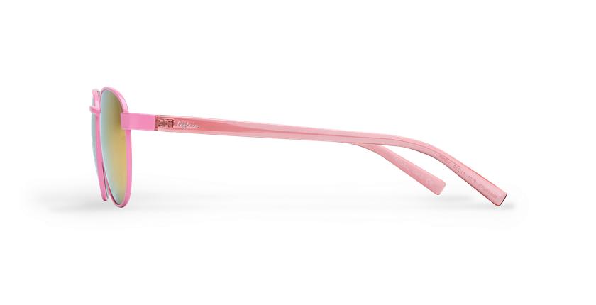 Lunettes de soleil femme FRUTTI rose - Vue de côté