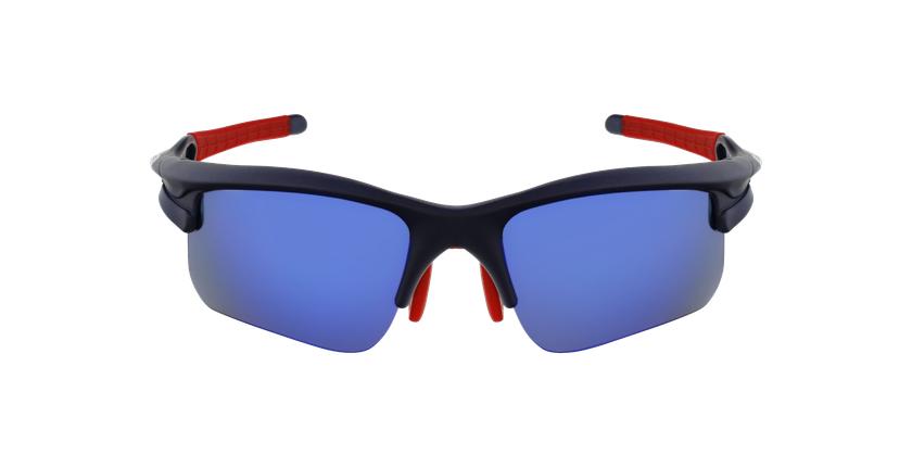Lunettes de soleil homme Bike-Star bleu - Vue de face