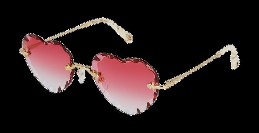 Lunettes de soleil femme CE150S doré/rose - vue de 3/4
