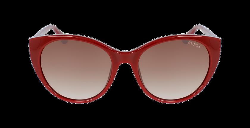 Lunettes de soleil femme GU7594 rouge - Vue de face