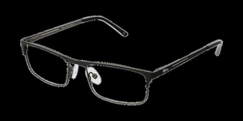 Lunettes de vue homme LILOUAN noir/gris