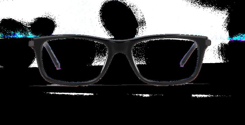 Lunettes de vue homme ORSAY noir - Vue de face