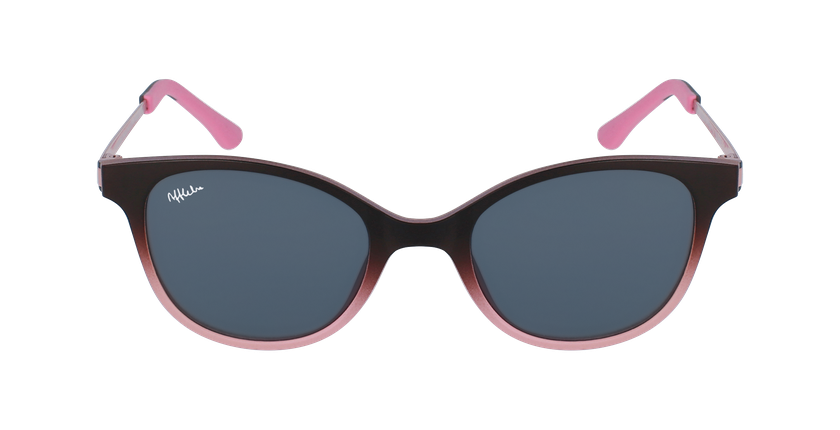 Lunettes de vue enfant MAGIC 31 BLUEBLOCK marron/rose - Vue de face