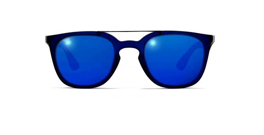 Lunettes de soleil homme CAGLIARI POLARIZED bleu - Vue de face