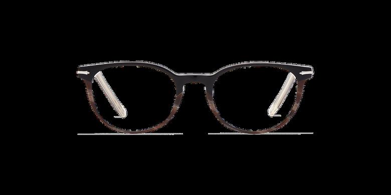 Lunettes de vue femme NANTUA noir/marron