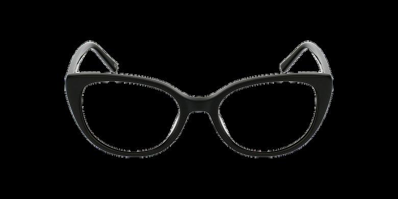 Lunettes de vue femme BERTILLE noirVue de face
