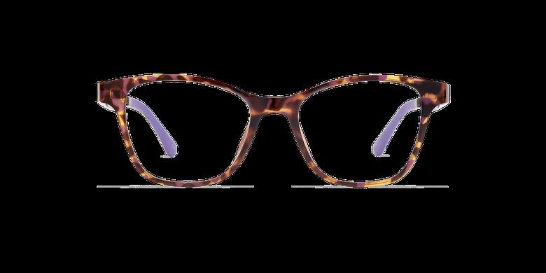 Lunettes de vue femme MAGIC 17 écaille/écaille violet