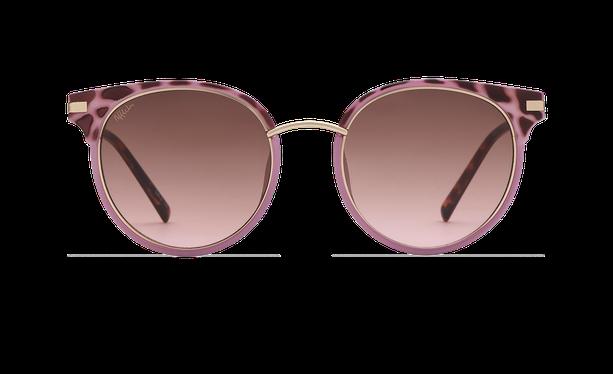 Lunettes de soleil femme BARCELO écaille/violet - danio.store.product.image_view_face