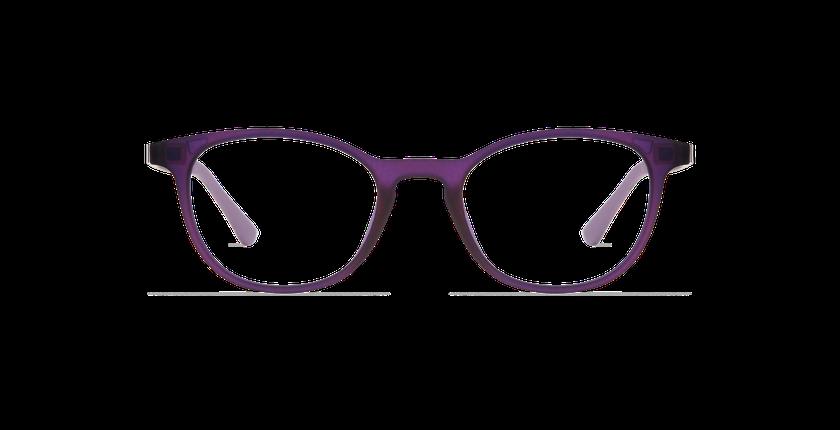 Lunettes de vue femme MAGIC 18 violet/violet frozen - Vue de face