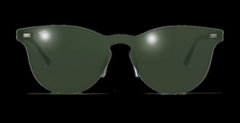 Lunettes de soleil femme COSMOS2 vert - Vue de face