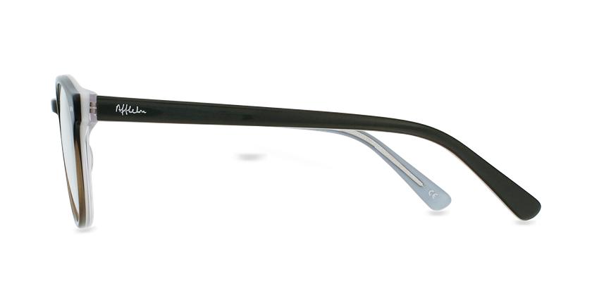 Lunettes de vue enfant LIV noir/gris - Vue de côté