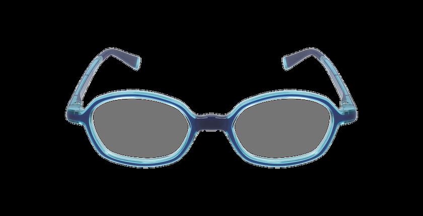 Lunettes de vue enfant RFOM2 bleu/turquoise - Vue de face