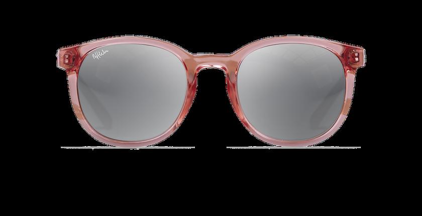 Lunettes de soleil femme ARUBA rose - Vue de face