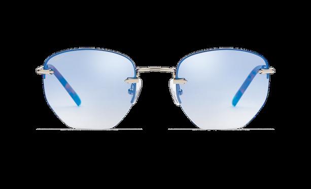 Lunettes de soleil femme JENNA argenté/bleu - danio.store.product.image_view_face