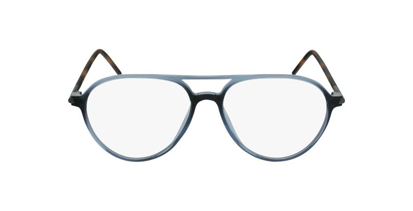 Lunettes de vue MAGIC 75 bleu/écaille - Vue de face