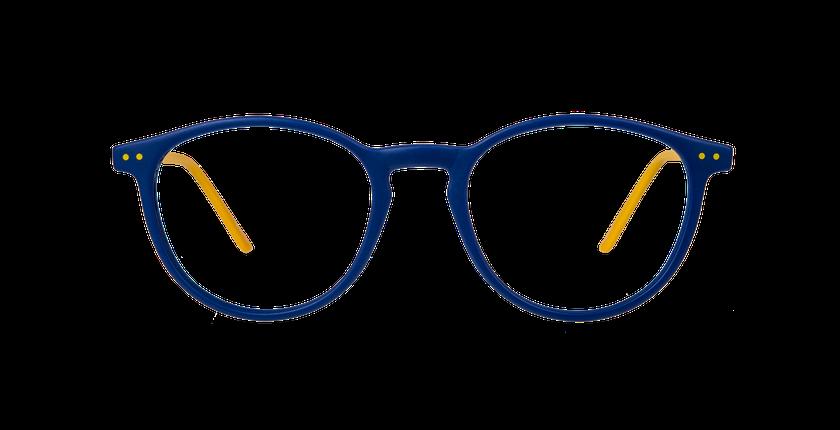 Lunettes de vue enfant BANANA bleu - Vue de face