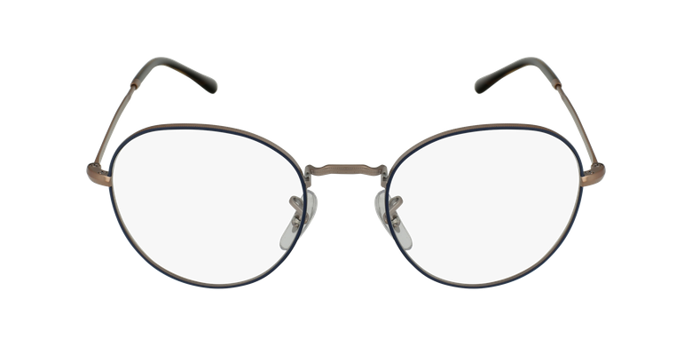 Lunettes de vue 0RX3582V argenté/écailleVue de face